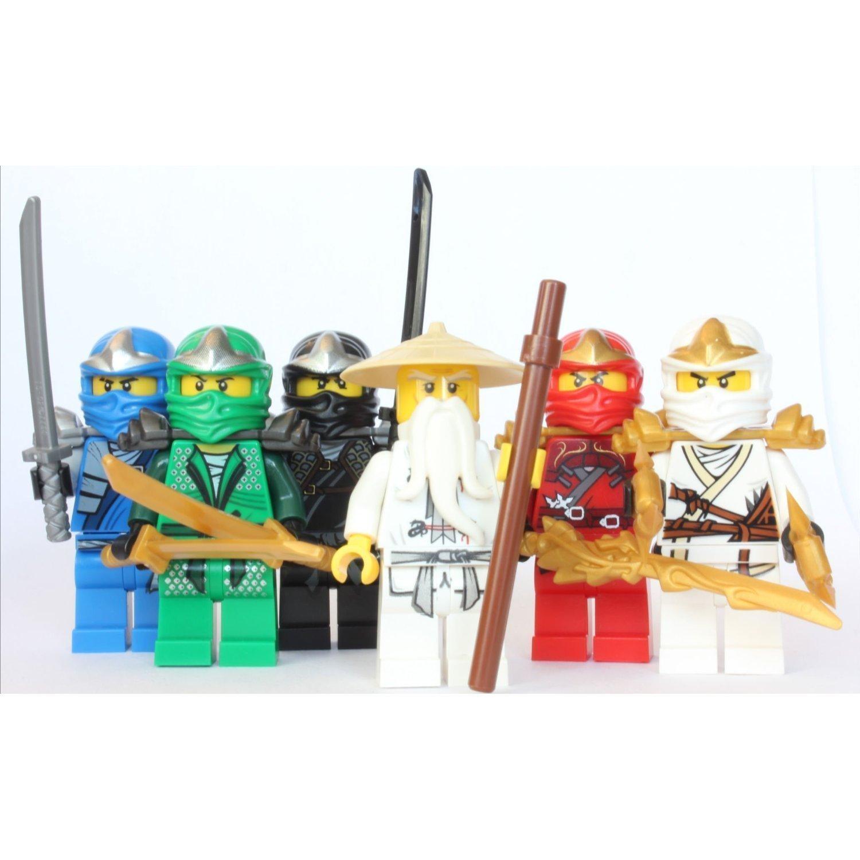 Ninjago figures - Ninjago lloyd and kai ...