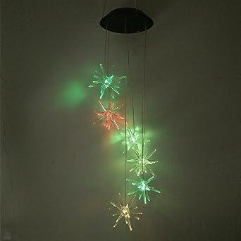 Lumière Led Penfly Nuit Vent Solaire Puissance Thorn Carillon Ball 4A5RLj