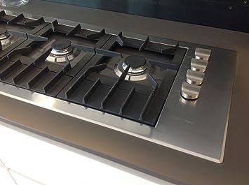 Piano cottura Boffi filotop 140 cm serie Quadro mod. VQABMI03 ...