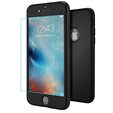 custodia iphone 6s silicone nero