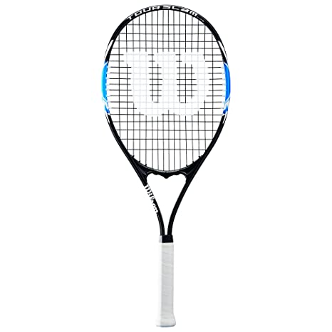 Amazon Com Wilson Tour Slam Lite Tennis Racket 4 3 8 Black