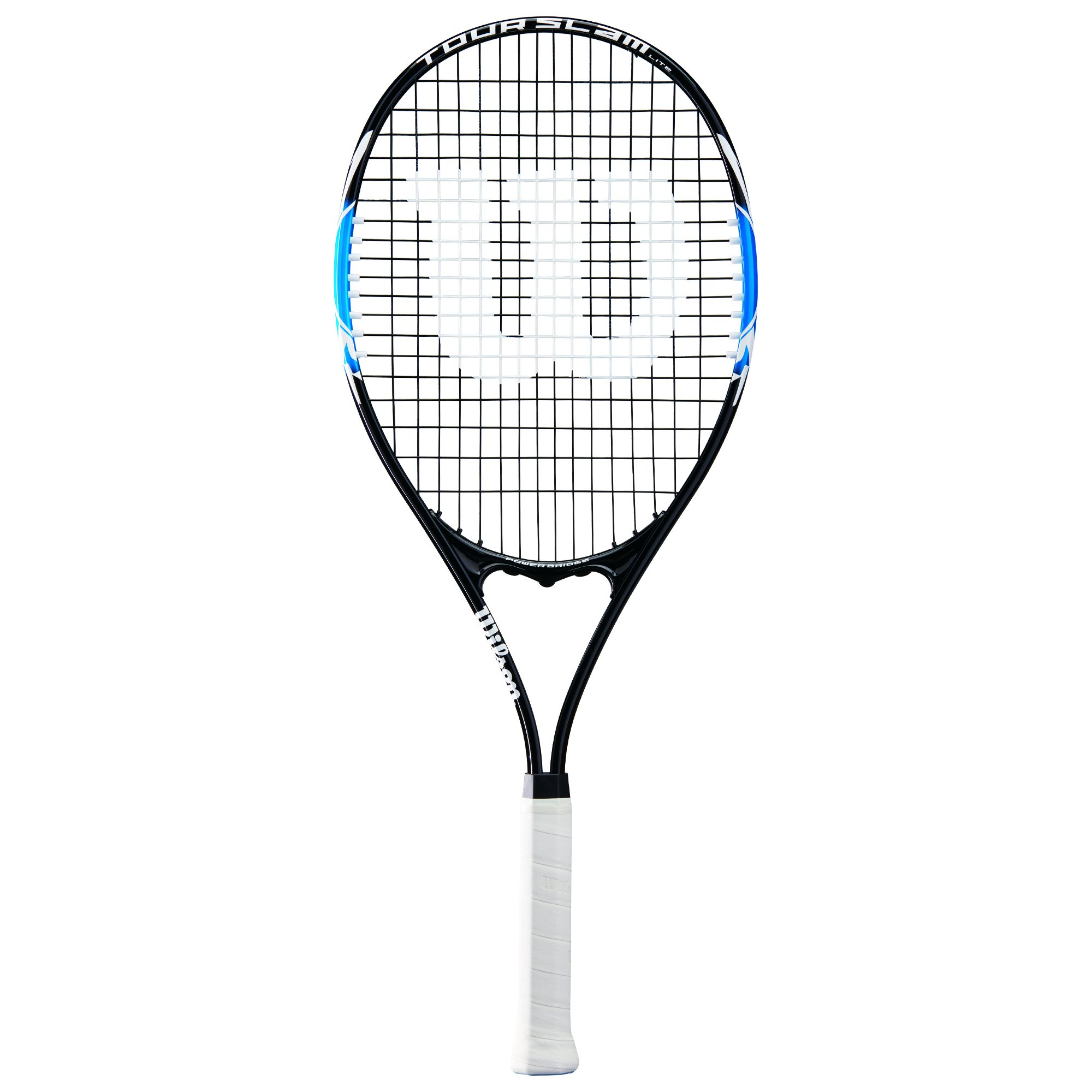 Wilson Tour Slam Lite Tennis Racket, 4 3/8'' - Black/Blue