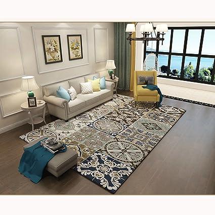 Amazon.com: CFG American Rural Retro Style Carpet Living Room Coffee ...