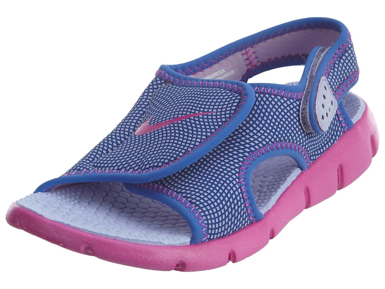 Nike Jungen Sunray Adjust 4 (Gs/PS) Zehentrenner, grau, 3.5UK/ 23.0cm