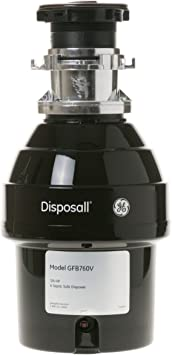 Ge 3 4 Hp Batch Feed Garbage Disposer Non Corded Amazon Com