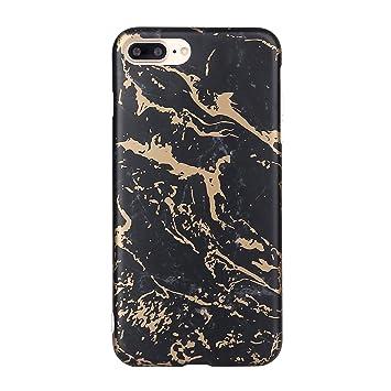 CXTcase iPhone 8 Plus Funda, Carcasa iPhone 7 Plus Marmol ...