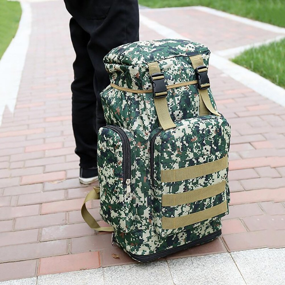 7272e595bf0f Amazon.com : YaXuan Camouflage Computer Backpack Outdoor Backpack ...