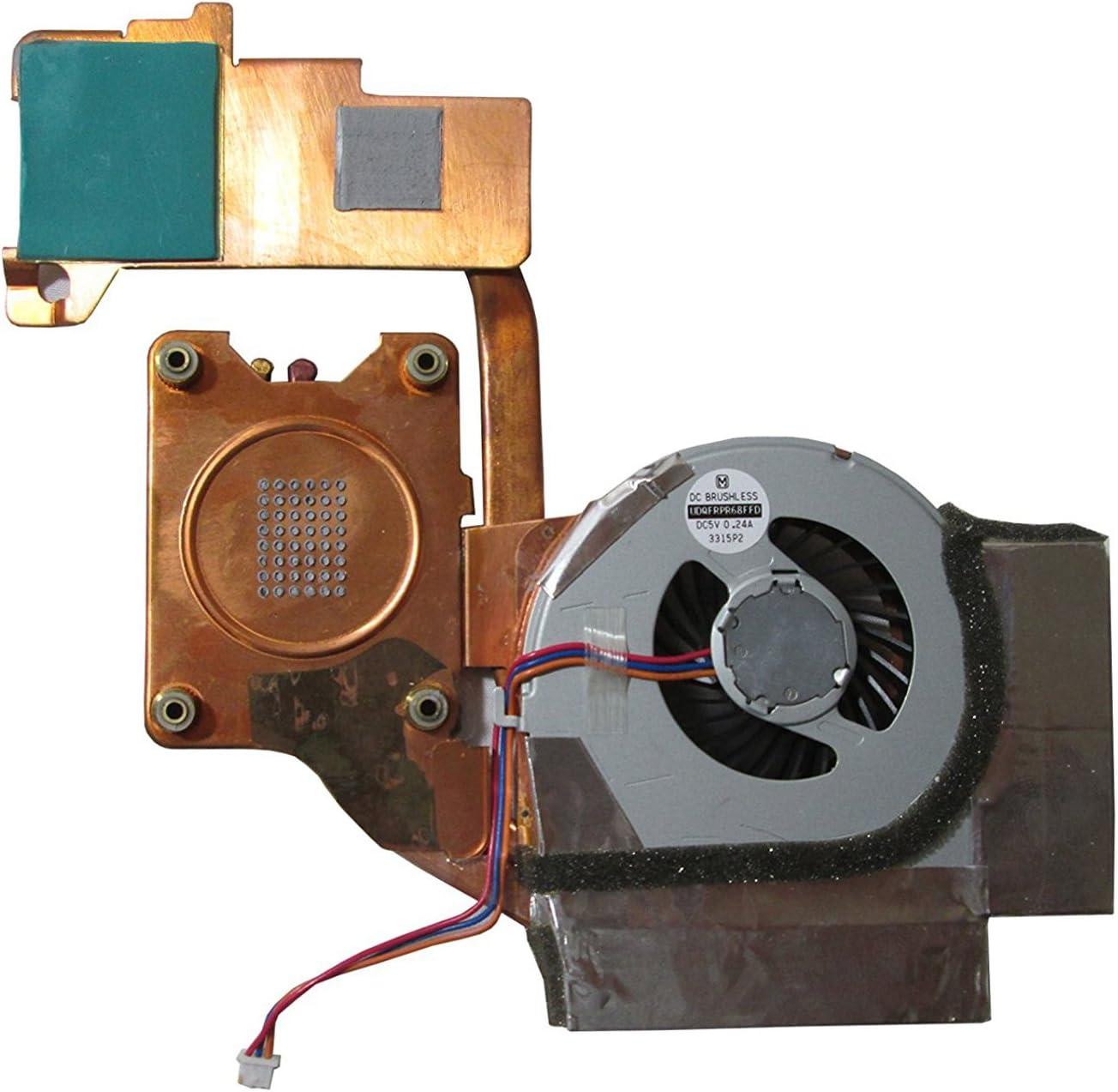 per IBM Thinkpad Lenovo T61 42W2460 Ventola di raffreddamento per processore UTS-Shop 42W2461 con dissipatore di calore incluso.