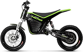Kuberg Cross Hero Electric Dirt Bike, negro, M: Amazon.es ...