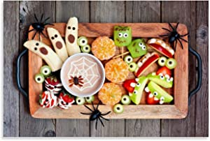 Gourmet Poster Halloween Fun Food Poster Decorative Painting Canvas Wall Art Living Room Posters Bedroom Painting 16x24inch(40x60cm) Shop