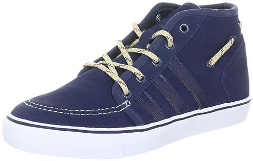 adidas Originals Court Deck Mid - Zapatillas deportivas de cuero hombre, color azul, talla 37 1/3