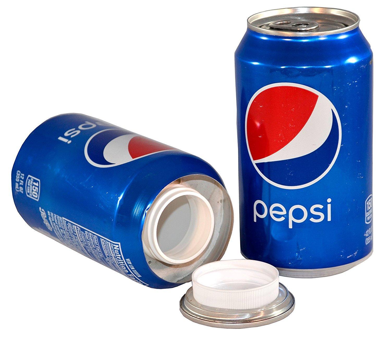 Pepsi Cola 12 FL OZ Diversion Hidden Safe Stash Can + 1 Free Laptopステッカー B075VB8ZHK