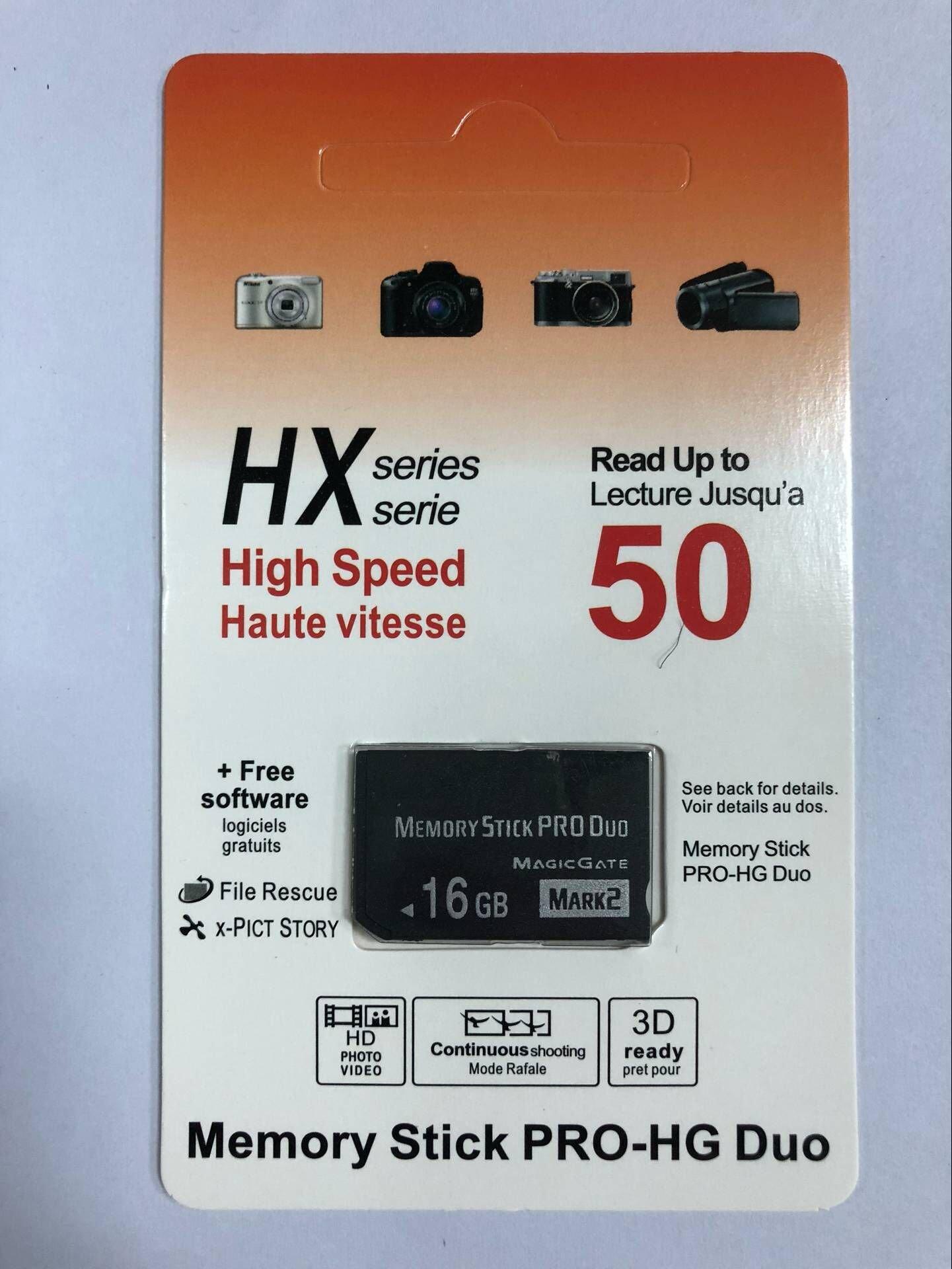 Original High speed memory stick Pro-HG Duo 16GB(Mark2) PSP accessories