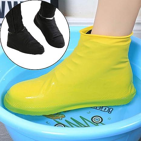 Impermeables Látex Lluvia Zapatos De Reutilizables Par Para 1 7nwxX147