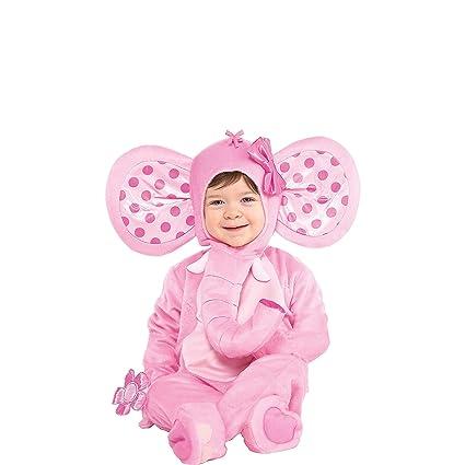 Amazon.com: Amscan 848185 - Disfraz de elefante para bebé, 0 ...