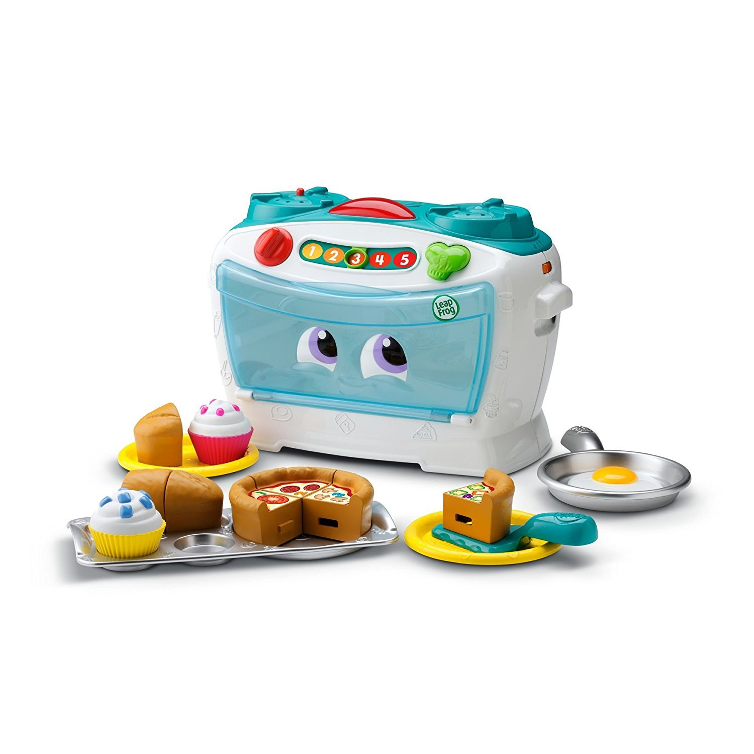 LeapFrog Number Lovin' Oven Learning Toy - White/Blue - French