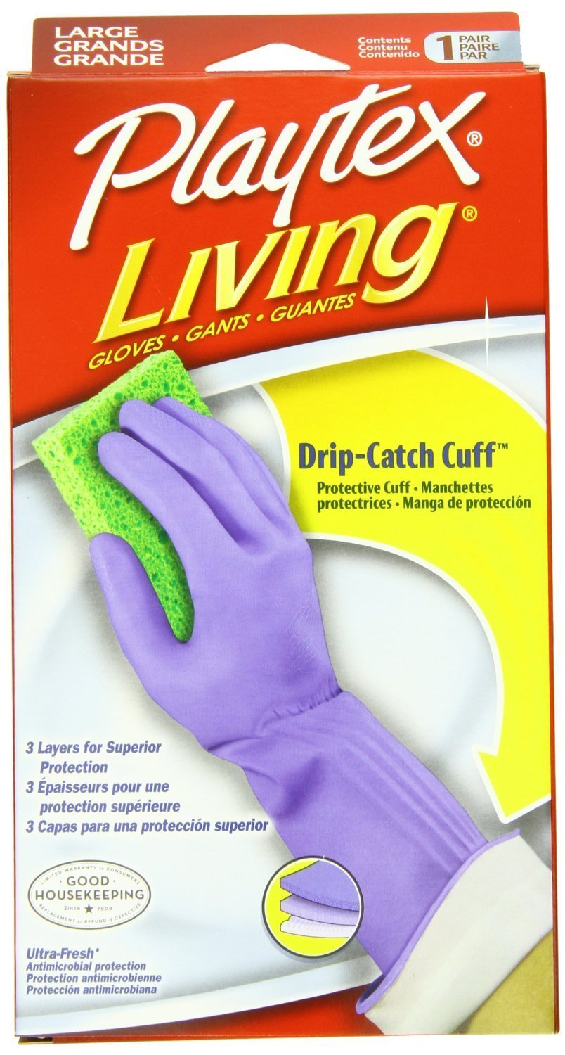 Playtex Gloves Living - Large - 3 Pairs