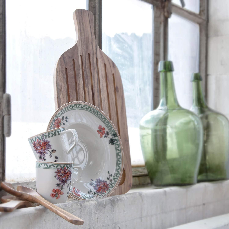 Villeroy /& Boch Artesano Proven/çal Verdure Assiette petit-d/éjeuner Porcelaine Premium 22 cm Blanc//Multicolore