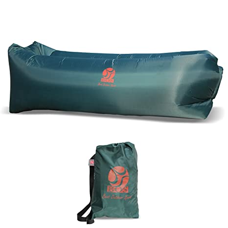 ONLYBOS Inflatable Lounger Hammock Air Sofa, Water Proofu0026 Anti Air Leaking  Design Ideal