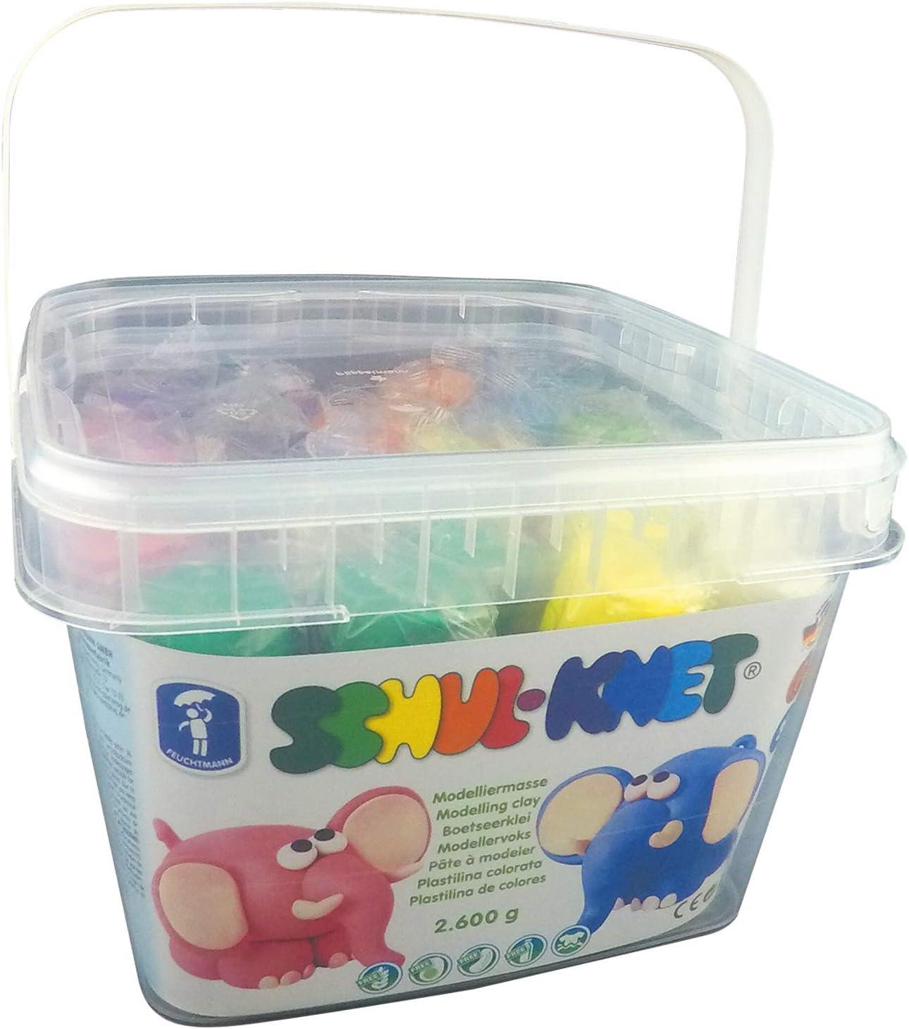 Feuchtmann Schul-Knet Modelling Dough in a Big Bucket