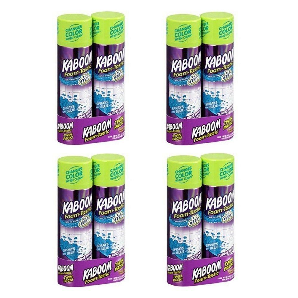 Twin Pack Kaboom Foam-Tastic Fresh Scent Bathroom Cleaner, 19 oz, 2 count (4)