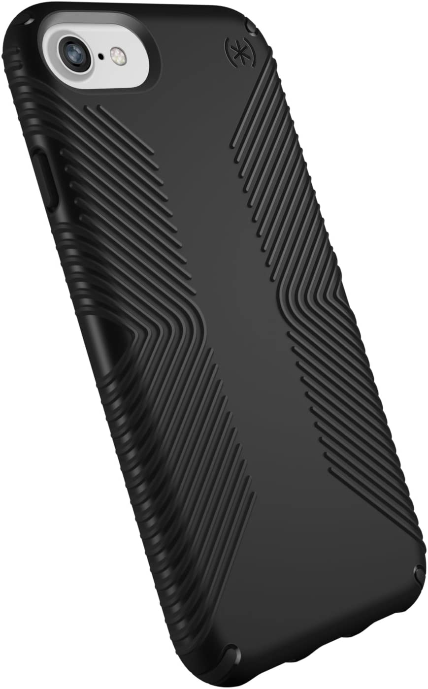 Speck Products Presidio Grip iPhone SE 2020 Case/iPhone 8, iPhone 7, iPhone 6S, iPhone 6 - Black/Black, 25-Pack Business Packaging