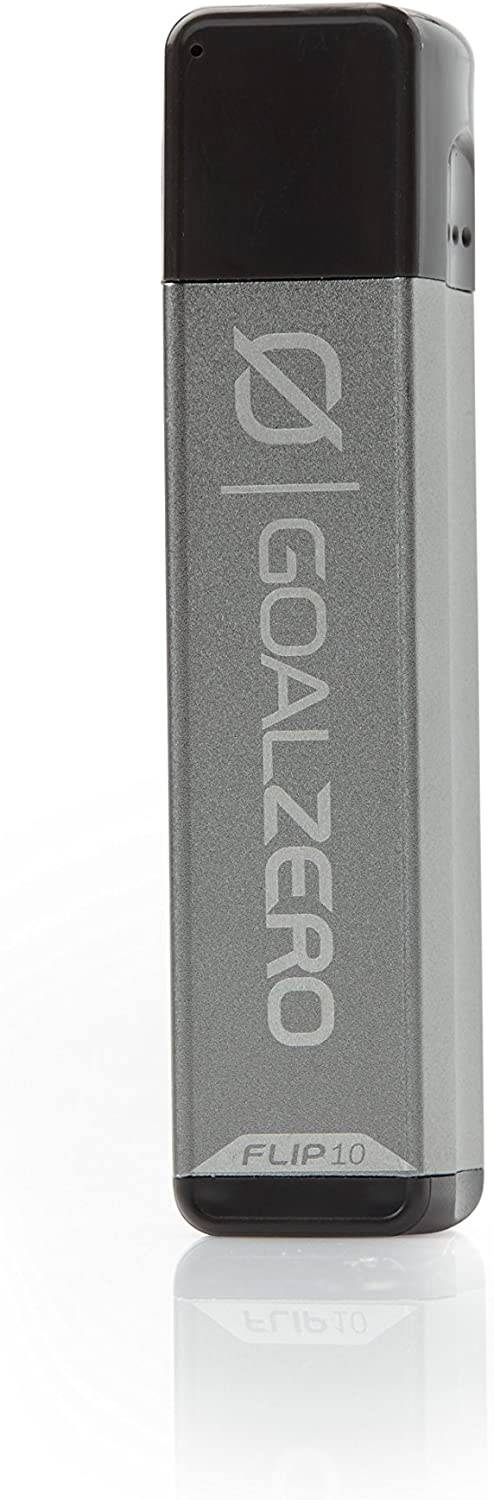 Goal Zero Flip 10 Portable Phone Charger, 2600mAh/10Wh One Size, Green