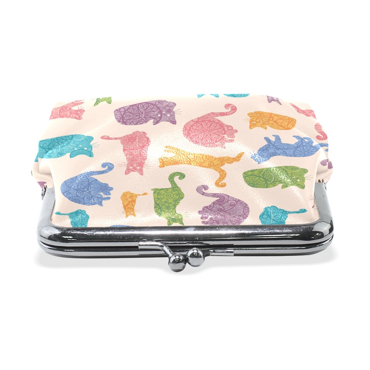Sunlome Cats Coin Purse Change Cash Bag Small Purse Wallets for Women Girl