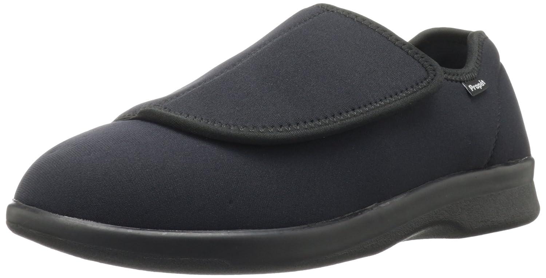 Propet Men's Cush N Foot Slipper 9.5 D(M) US|Black