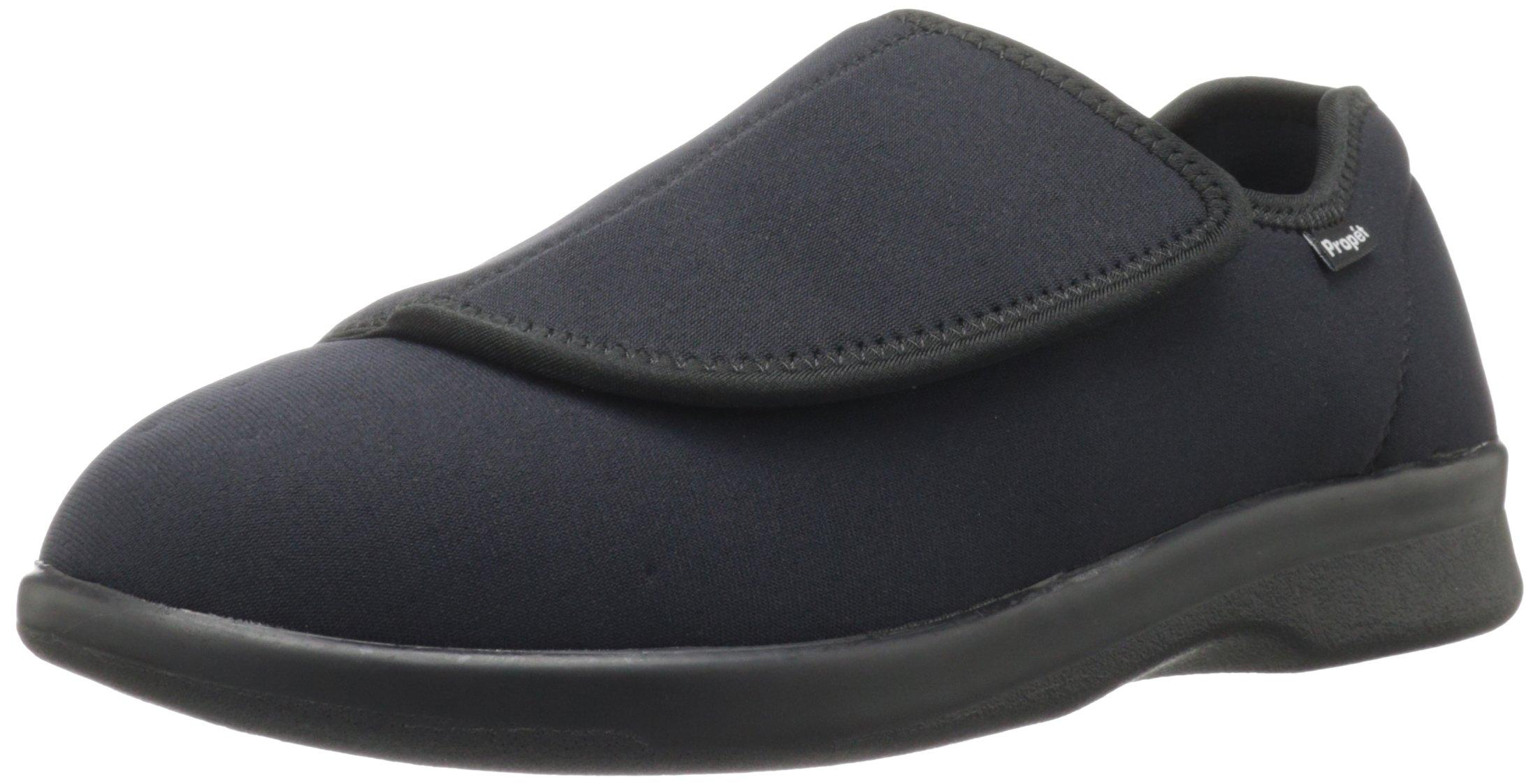 Propet Men's Cush N Foot Shoe,Black,15 5E US by Propét