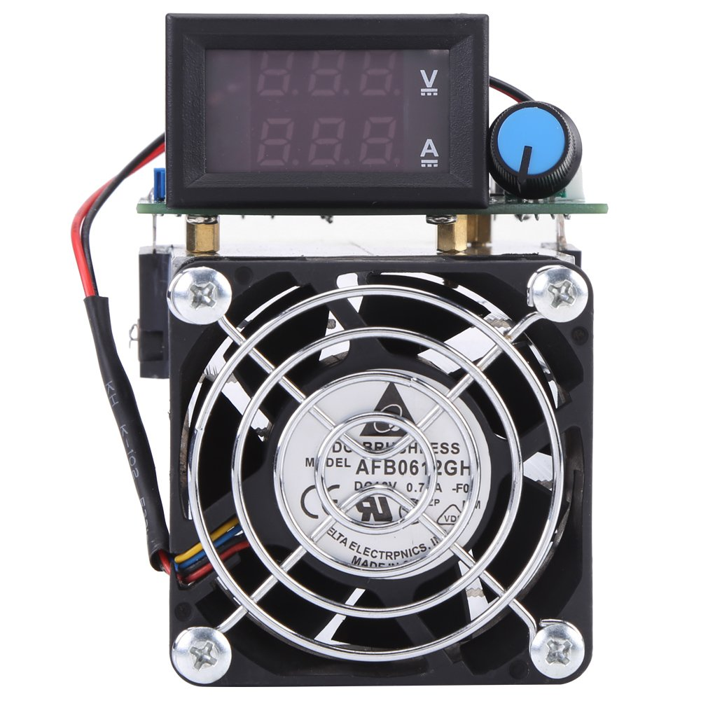 150W Intelligent Electronic Load 150V 10A Battery Discharge Detector US Adapter