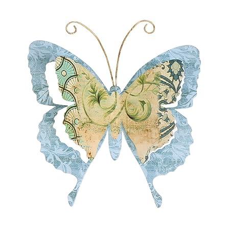 Colorful Butterfly Garden Wall Art Inspiration - Wall Art Design ...