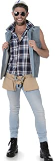 Construction Guy Mens Fancy Dress Builder Worker Occupation Stag Adult Costume (Medium 38 -40  sc 1 st  Amazon UK & Mens YMCA Builder Construction Worker Village People 70s 80s 1970s ...