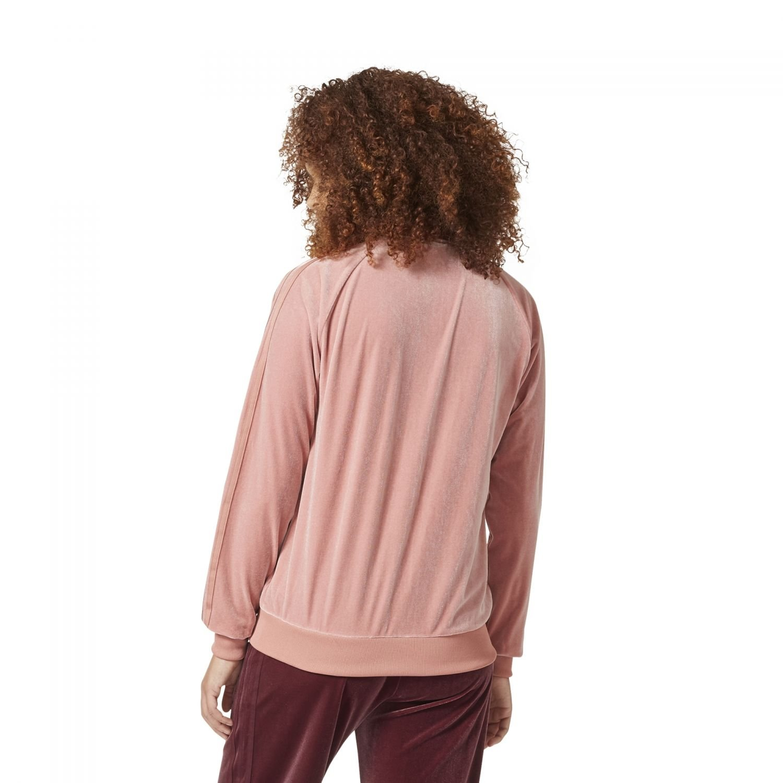 b5febd631d47 adidas Originals Women Velvet Vibes Superstar SST Track Jacket at Amazon  Women s Clothing store