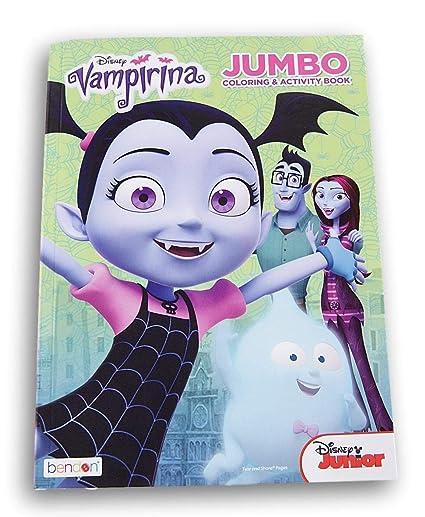 Amazon Com Lazy Days Vampirina Coloring And Activity Book