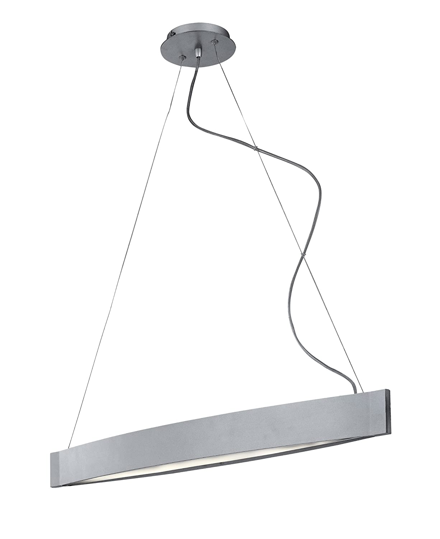 Kenroy Home 90860SIL Sopra 2 Light Pendant, Silver Finish   Ceiling Pendant  Fixtures   Amazon.com