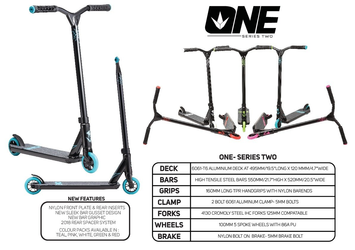Envy One Series 2 Freestyle Pro Scooter White