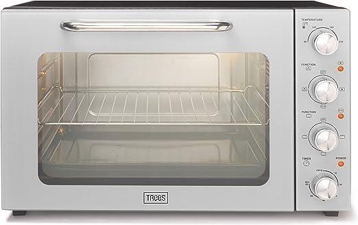 Trebs 99393 - Mini horno con ventilación (55 L, acero inoxidable ...