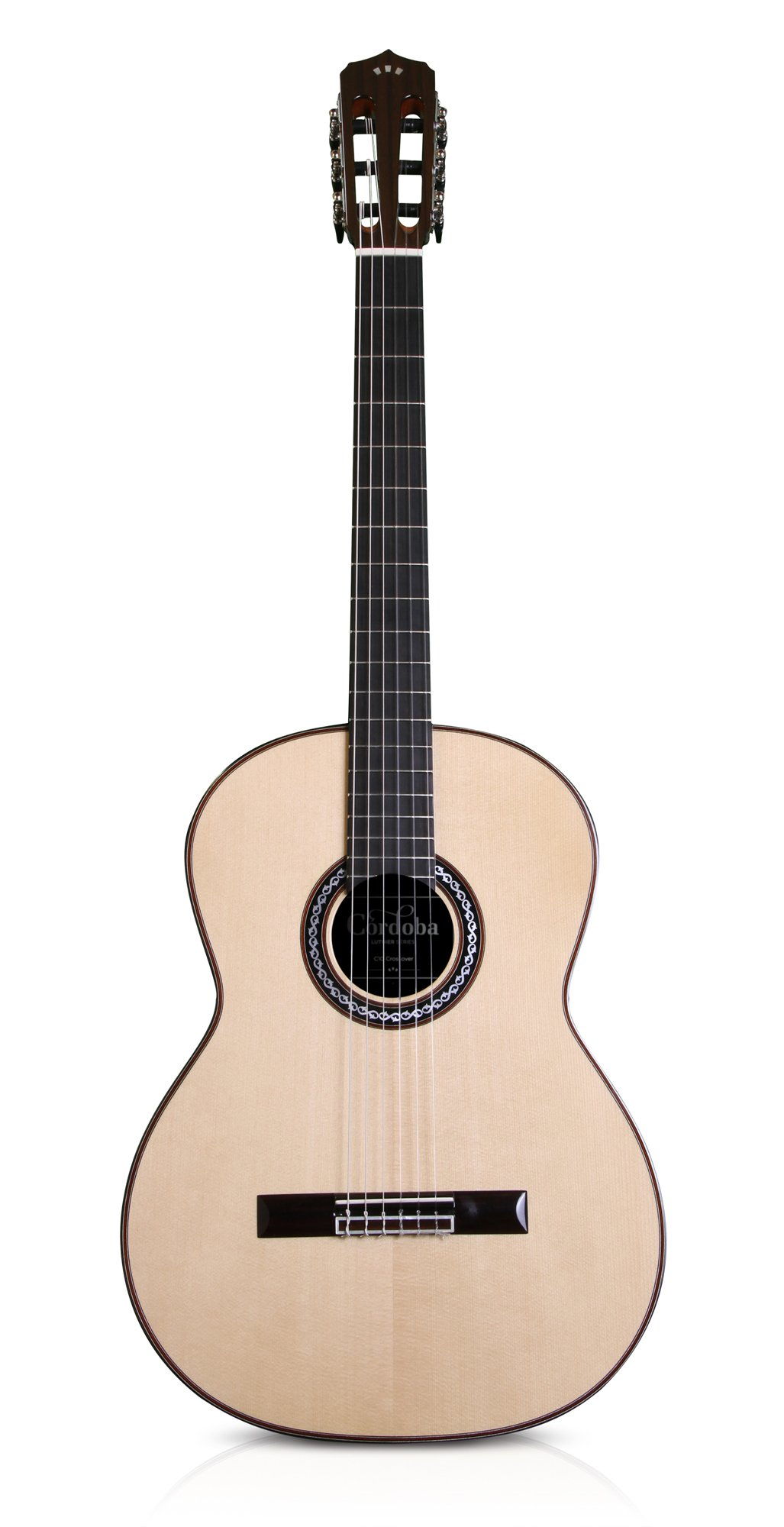 cordoba c10 crossover acoustic nylon string guitar guitar affinity. Black Bedroom Furniture Sets. Home Design Ideas