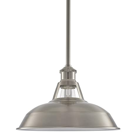 Olivera 105 Inch Pendant Light Brushed Nickel Pendant Lighting For Kitchen Island With Led Bulb Ll P833 1bn