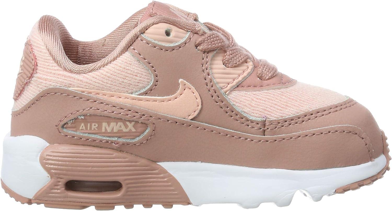 Chaussons Bas Mixte bébé TD Nike Air Max 90 Se Mesh Chaussons ...
