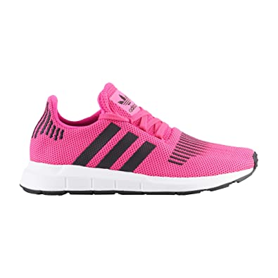 sports shoes 6edaa ecc02 adidas Originals Unisex Swift J Running Shoe, Shock Pink, core Black, FTWR  White