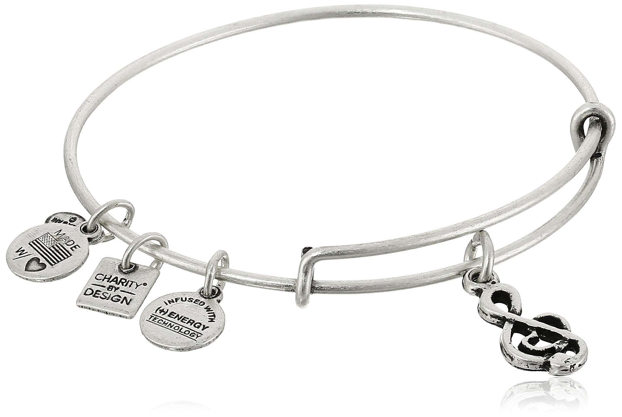 Alex and Ani Charity By Design Sweet Melody Rafaelian Silver Bangle Bracelet