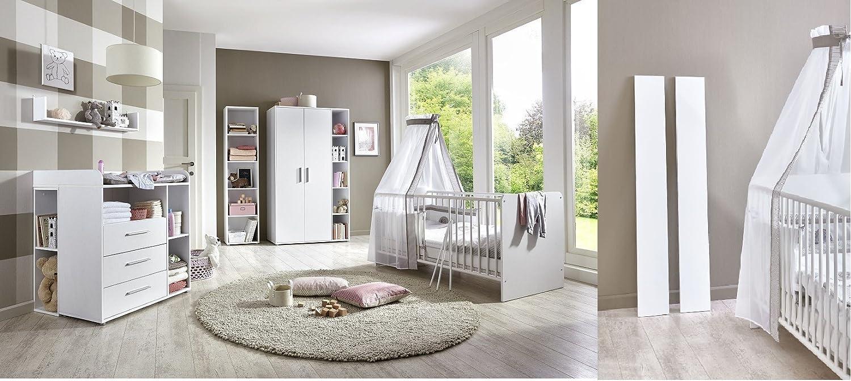 Baby habitaciones/Habitación Kim 4 + en Blanco, Juego ...