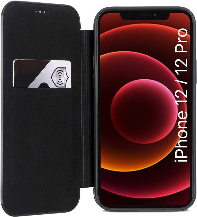 Caseza Iphone 12 Hülle Iphone 12 Pro Case Schwarz Elektronik
