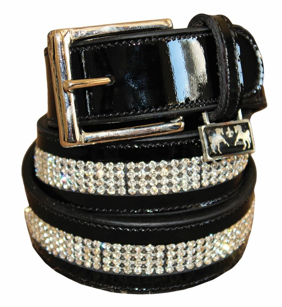 Equine Couture Ladies Bling Leather Belt by Equine Couture (Image #1)