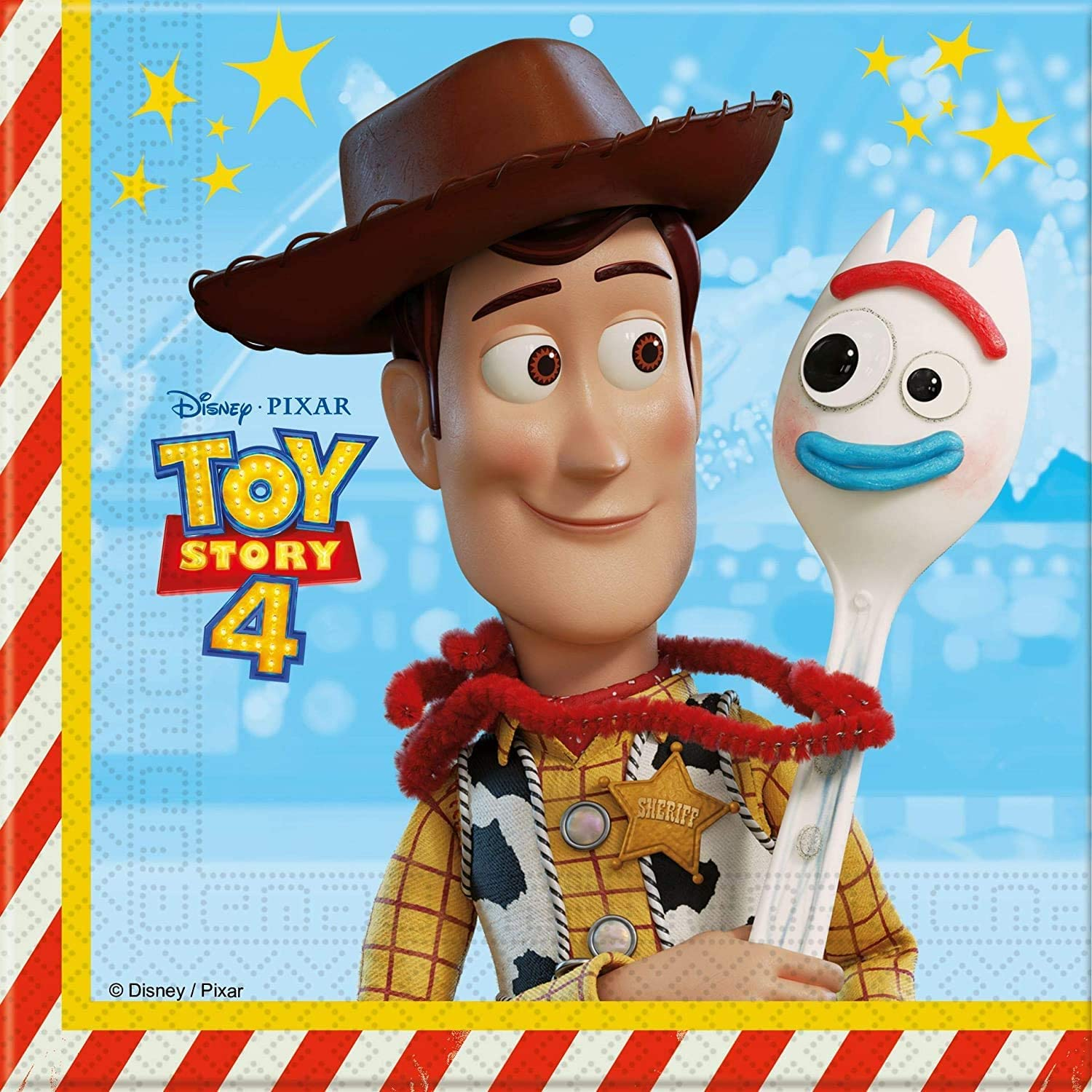 Budget Gifts Toy Story 4 Party Pack for 16 guests