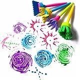 Lalang Enfants Bébé Dessin Sponge Brush Pinceau Jouets