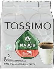 Tassimo Nabob 100% Colombian Coffee Single Serve T-Discs, 14 T-Discs