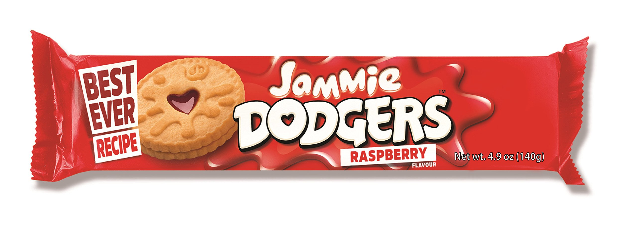 Burton's Jammie Dodgers, 4.9 Ounce (Pack of 5)